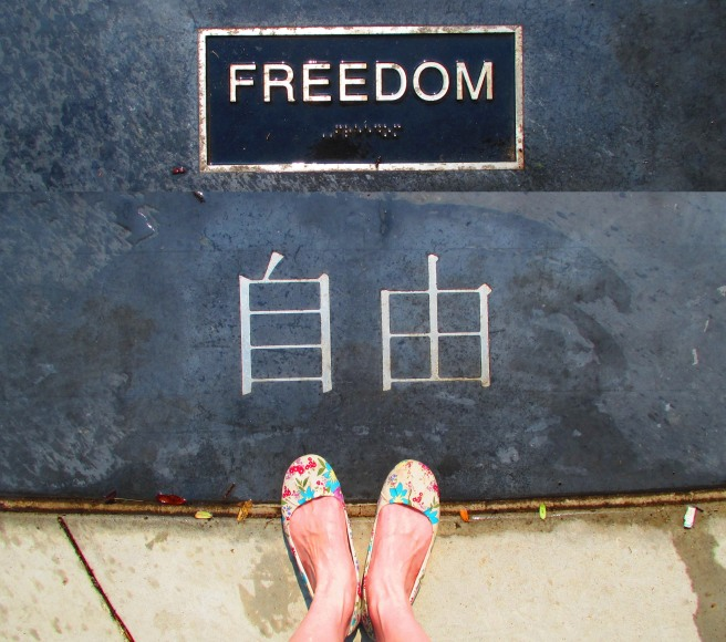Freedom - blog backstory