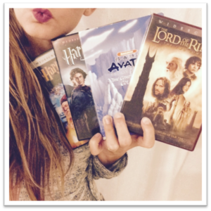mary with dvds